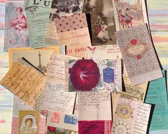 Ephemera Pack, Vintage Style Ephemera Pack 1