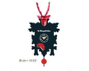 Black Forest avant-garde Cuckoo clock 12 melody Cuckoo call CuckooClocks motif 18
