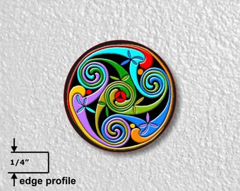 Celtic Triskelion Medium Wall Plaque