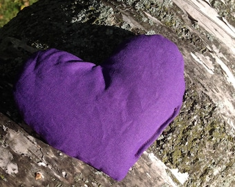 Lavender Scented Mini Heart Hot Pack