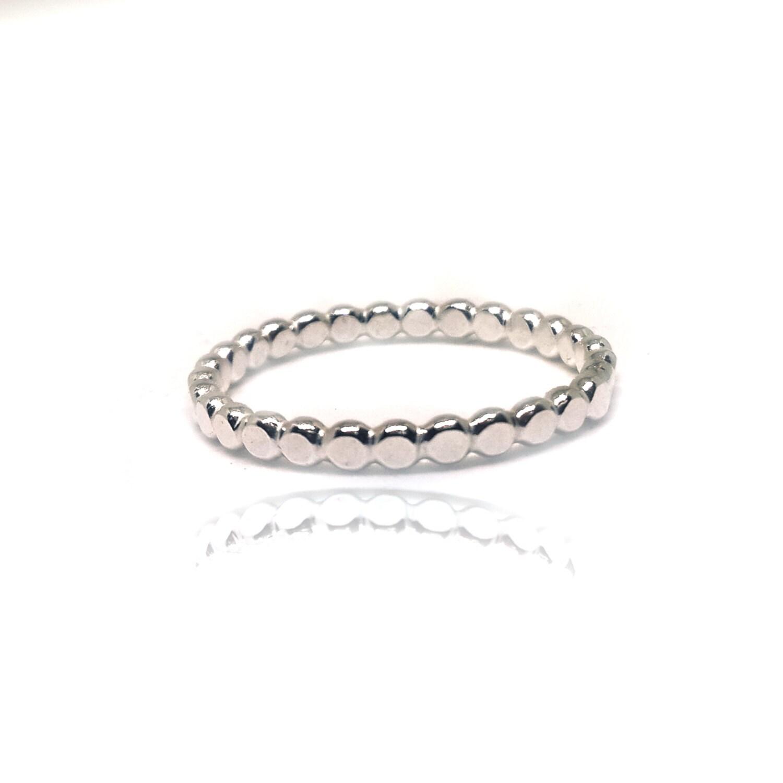 Zarter Silberring dünnen Ring Stacking Ring