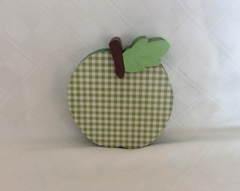 Apple, seasonal decor, fall, summer, teacher gifts, shelf sitters
