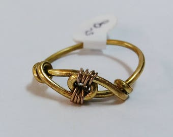 Wire Loop Wrap Ring