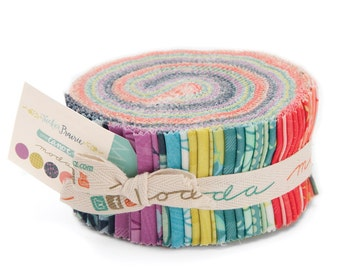 SALE - Tucker Prairie - Jelly Roll - by One Canoe Two for Moda Fabrics