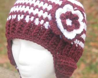 Made to Order MSU earflap hat