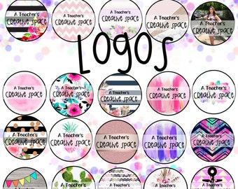 Logo Custom Design | Instagram Logo | Branding Logo | Tpt Logo | Etsy Shop Logo | Personalized Logo