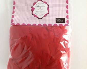 Red Material for Covering Schnazzy Hangers