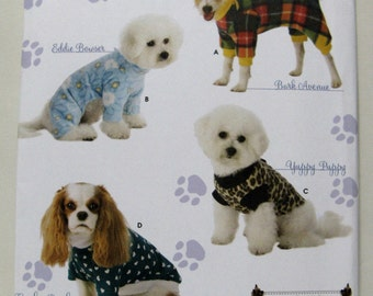 Simplicity 3939 Sewing Pattern Dog Clothes Woofy Wear New and Uncut