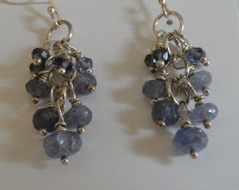 Tanzanite Earrings  -  #418