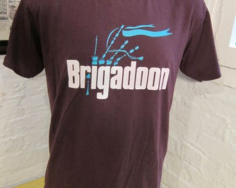 Size L (46) ** 1996 Brigadoon Coeur d'Alene, Idaho Summer Theatre Shirt (Double Sided)