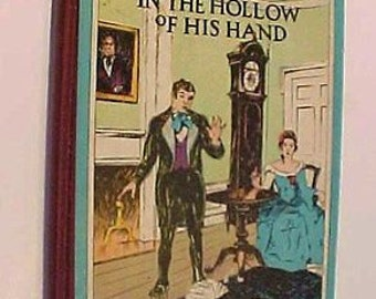 The Hollow of His Hand  Christmas Story by George Lose Christian Book an 1860s Southern Civil War Antique Lutheran Sunday School