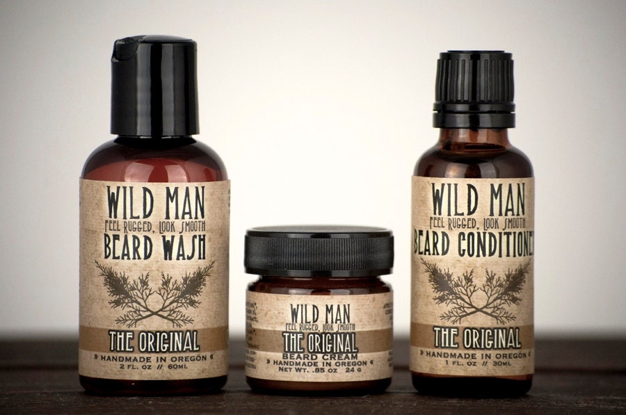 mens beard grooming gift set three pack beard oil conditioner. Black Bedroom Furniture Sets. Home Design Ideas
