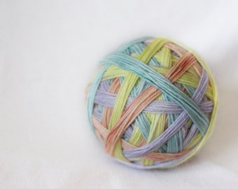 Pre-Order - Sweethearts - Self-Striping - Nuthatch - 75/25 superwash merino/ nylon sock yarn