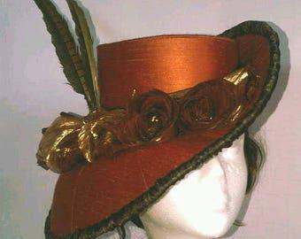 Hat Pattern, Sewing Pattern, Victorian, Tutorial, Digital Download, Instant PDF, Sherlock, Steampunk, Gothic, Burlesque, Millinery, Vintage