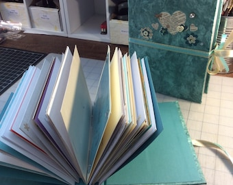 Greeting Card Book, your special occassion cards hand-bound into a hardback keepsake book, best selling item