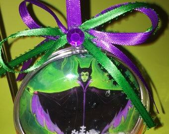 Malificent themed ornament