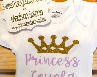 Customized Princess Bodysuit