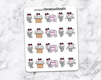 HAPPY MAIL, Stickers — happymailgirl1
