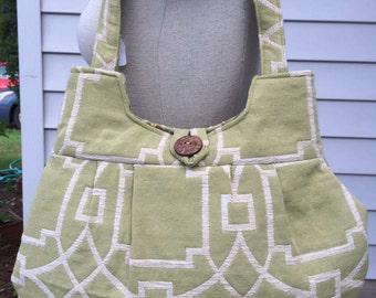 Tapestry Designer Fabric Handbag