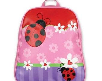 Stephen Joseph Go Go Backpack Personalized - Ladybug