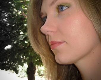 Peridot and Truffle Eye Shadows