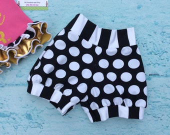 Licorice Bubble Shorts