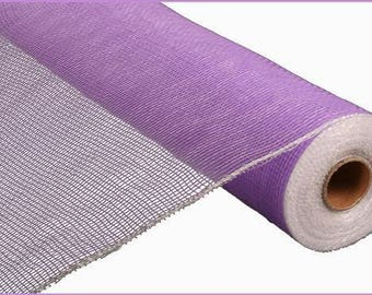 "Decorative Poly Mesh Roll, 21"" Mesh, 10 Yards, Light Purple, Lavender, Pastel wreath mesh, DIY Wreath decor, Mesh roll, 5051, A3"