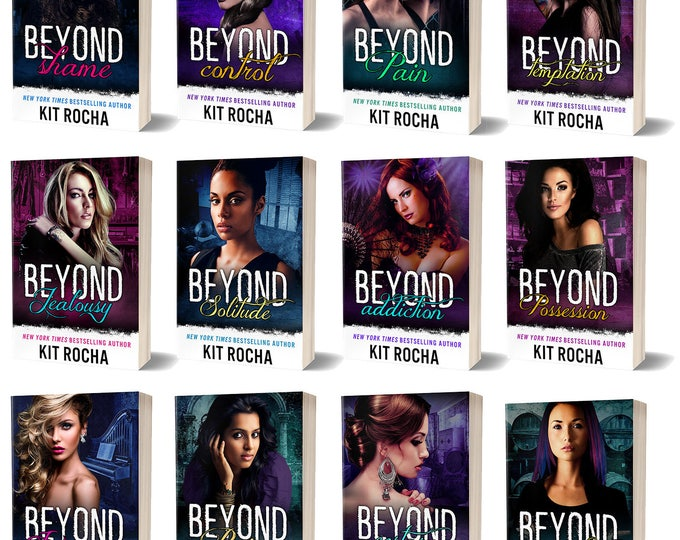 PRE-ORDER: Complete Autographed Rebranded Beyond Series In Print (12 books, 1 Flask Keychain, Swag. Ships by late April.)