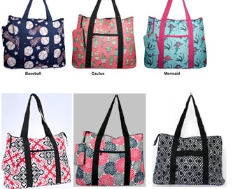 Personalized Extra large totes get for weekend trips, carry on bags,large diaper bag all around large Shopping tote bags