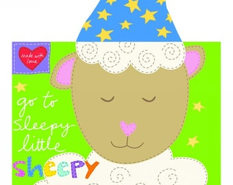Go to Sleepy Little Sheepy Studio E Book Panel