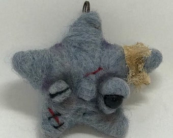 Fallen star ornament  free shipping Original one of a kind art doll