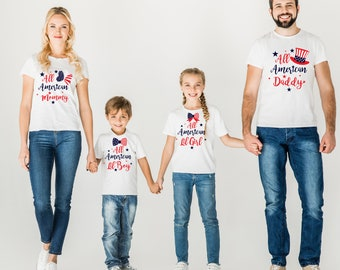 4th of July - Choose Mama, Papa or Baby -  baby bodysuit / toddler tees
