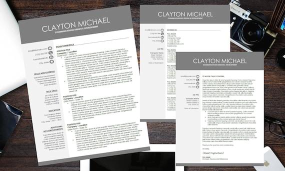 2 page cv format