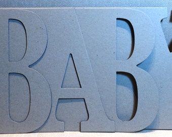 BABY Chipboard Album 5.5 high x 10 inches long