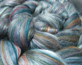 Merino/Silk roving for spinning or felting
