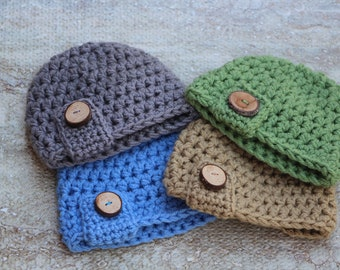 Baby hat, Baby boy, Baby boy hat, Baby shower, Baby gift, Newborn photo prop, Baby boy gift, Crochet baby, Newborn hat, New baby gift