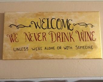 Welcome Wine