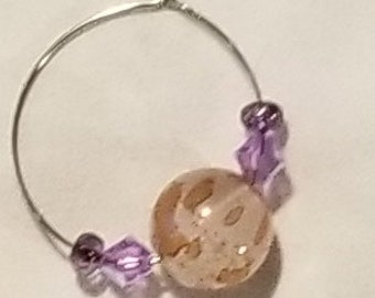 070E Dusky Rose Earrings Only