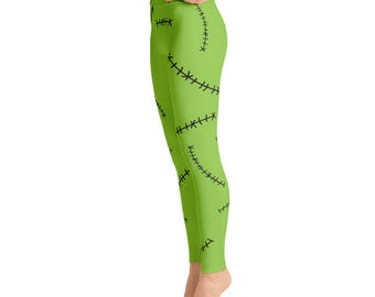 Frankenstein Yoga Leggings