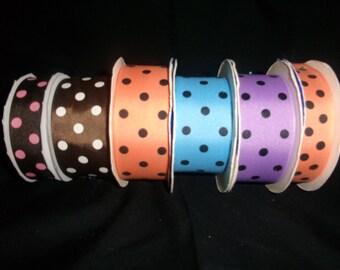 Polka Dot Ribbon Bundle