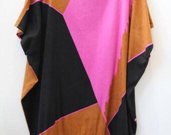 Vintage graphic print dress