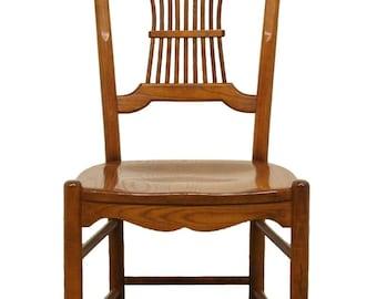 NICHOLS & STONE Wheat / Sheaf Back Dining Side Chair 311A-710