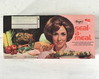 Vintage Dazey Seal-a-Meal - Unused and in original Box - New Old Stock - Food Storage
