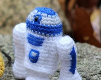 R2D2 Amigurumi Crocheted Star Wars