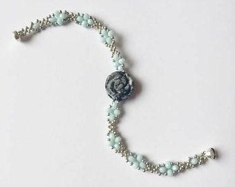 Petite Winter Rose Bracelet