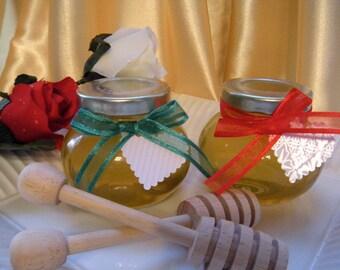 Gourmet Gift Idea, Natural Raw Honey, Hand Made Gift Tags, 2