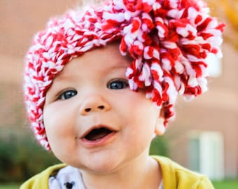 Pompom Baby Headband