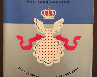 How to Win Compliments for Your Cooking, vintage recipe booklet