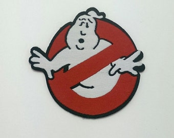 Ghostbusters ghost vintage embroidered iron on patch