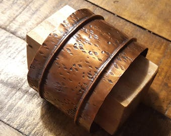 Fold Form Copper Cuff